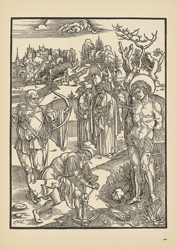 Albrecht Dürer – Svätý Šebestián, 1471 – 1505