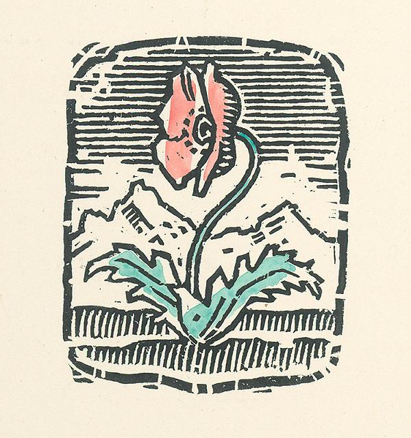 Ľudovít Fulla - Makový kvet
