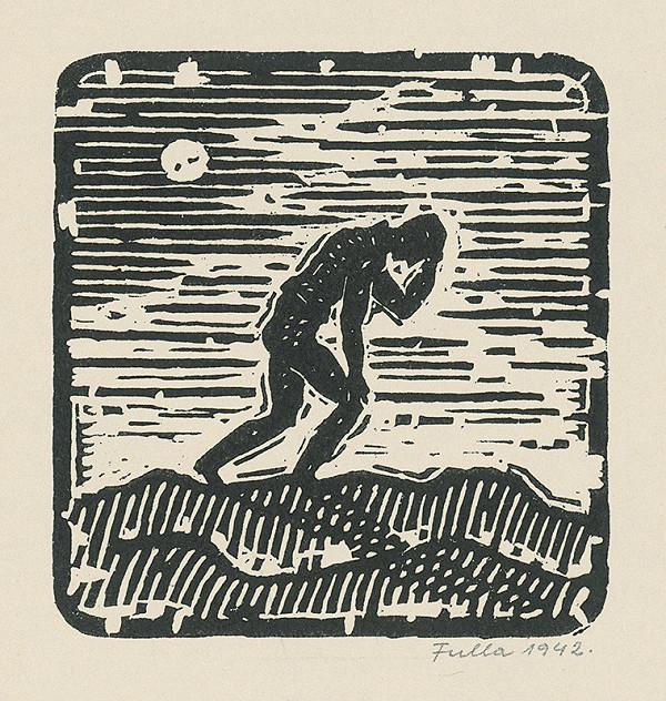 Ľudovít Fulla – Muž na púšti