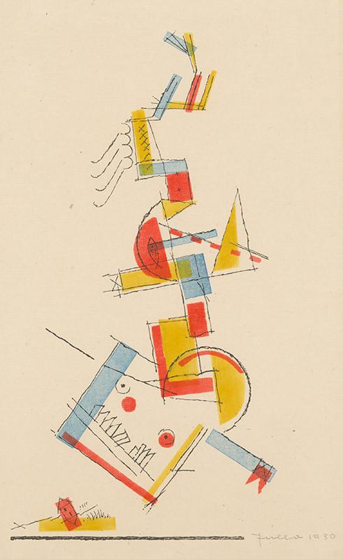 Ľudovít Fulla – Drak, 1930, Slovenská národná galéria
