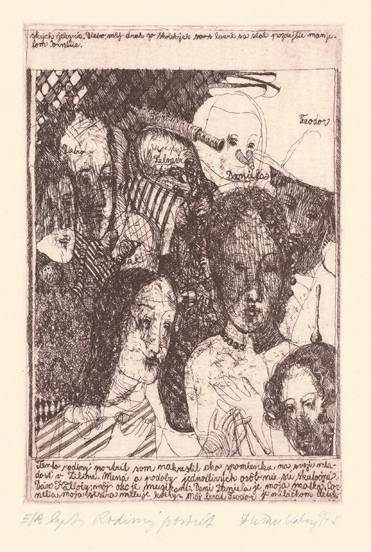 Dušan Kállay – Rodinný portrét