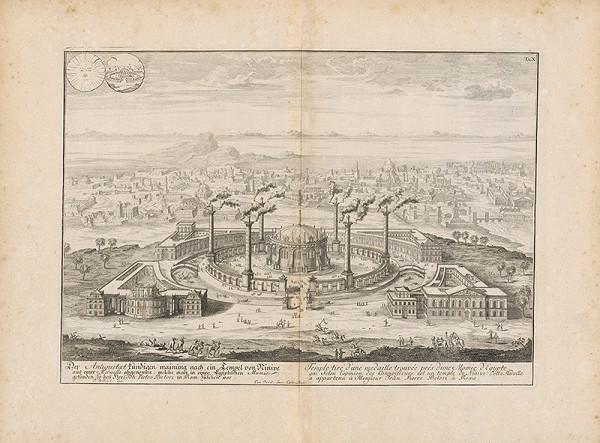 Johann Bernhard Fischer von Erlach, Johann Ulrich Krauss - Návrh stavby vytvorený podľa chrámu v Ninive