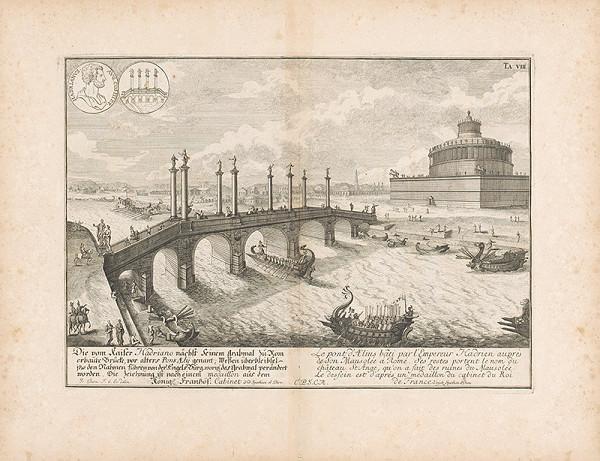 Johann Bernhard Fischer von Erlach - Pohľad na most Aelian