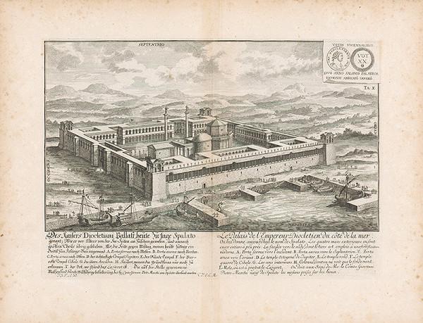 Johann Bernhard Fischer von Erlach – Pohľad na Diokletianov palác