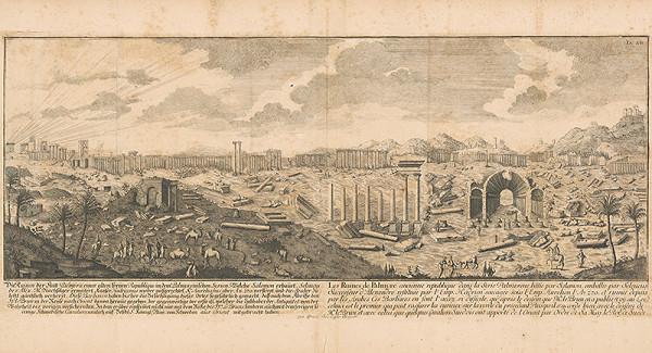 Johann Bernhard Fischer von Erlach - Ruiny mesta Palmýra