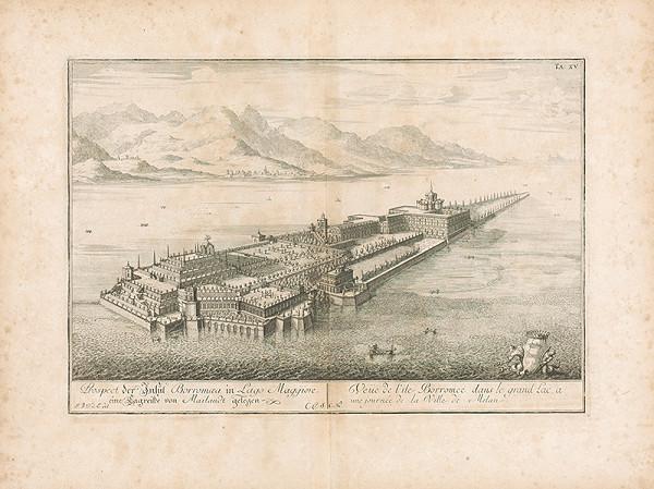 Johann Bernhard Fischer von Erlach – Pohľad na ostrov Borromea