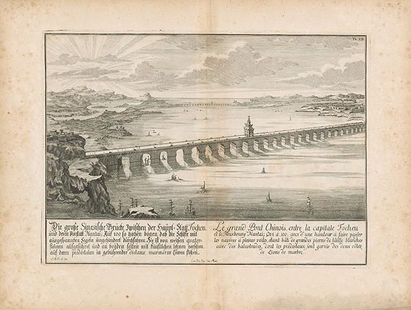 Johann Bernhard Fischer von Erlach - Pohľad na veľký čínsky most