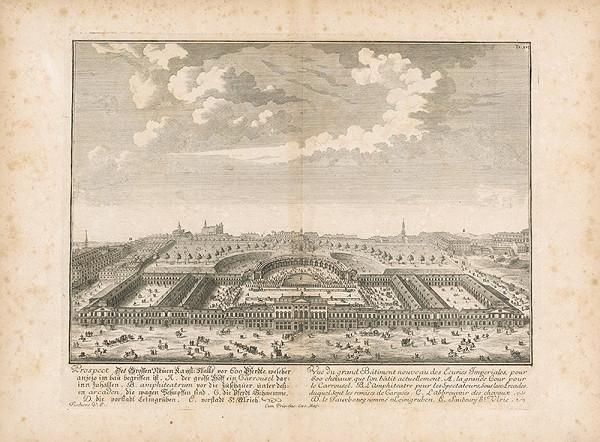 Johann Bernhard Fischer von Erlach - Návrh novej veľkej stavby