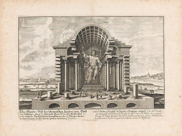 Johann Bernhard Fischer von Erlach, Johann Ulrich Krauss - Jupiter Olympíjsky
