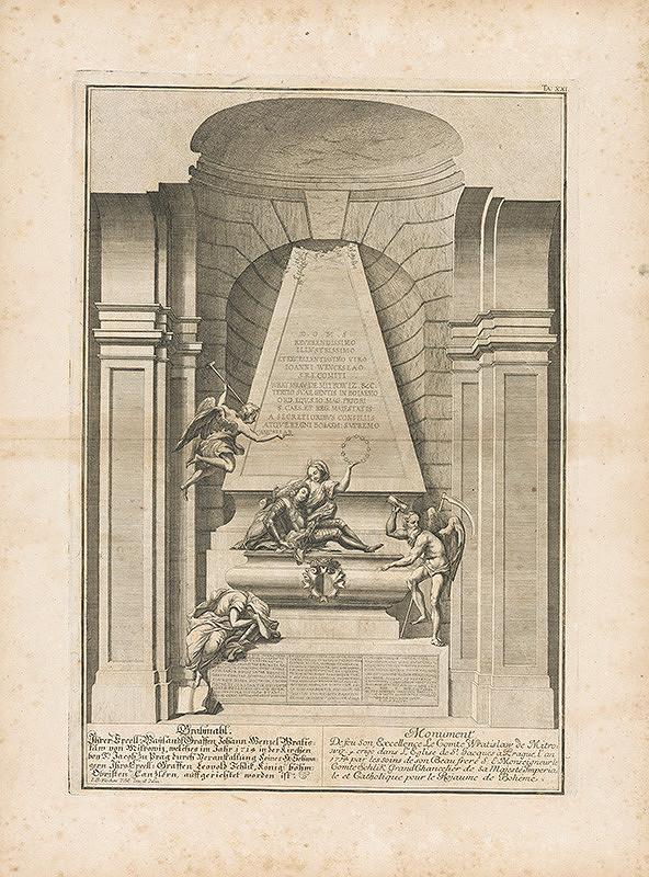 Johann Bernhard Fischer von Erlach – Návrh náhrobku