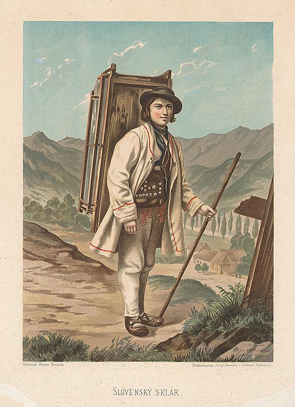 Kornel Bohúň, Peter Michal Bohúň - Slovenský sklár