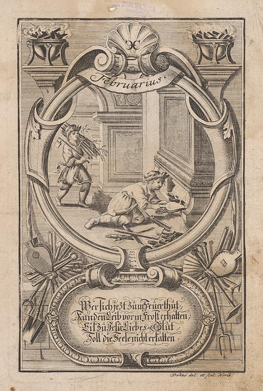 Johann Christoph Dehne – Február