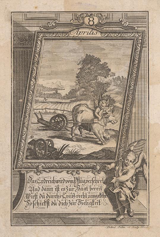 Johann Christoph Dehne – Apríl