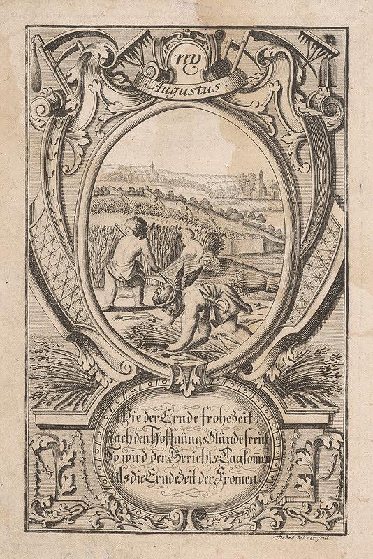 Johann Christoph Dehne – August