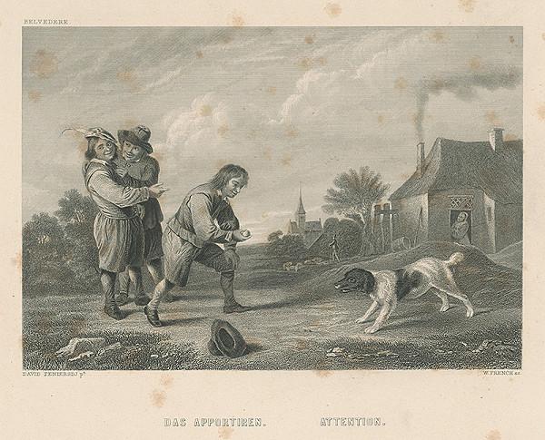 Wiliam Frensch, David Teniers, William French – Aportovanie