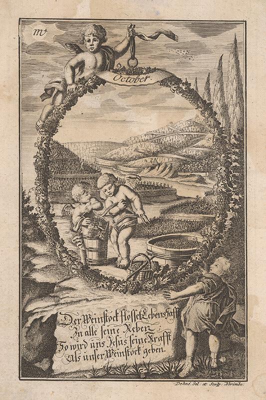Johann Christoph Dehne – Október