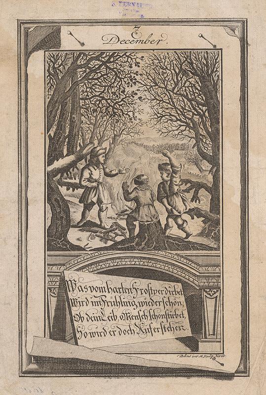 Johann Christoph Dehne – December