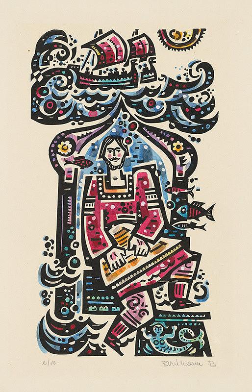Róbert Dúbravec – 3.celostranová ilustrácia