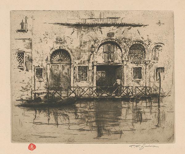 František Tavík Šimon – Traghetto v Benátkach