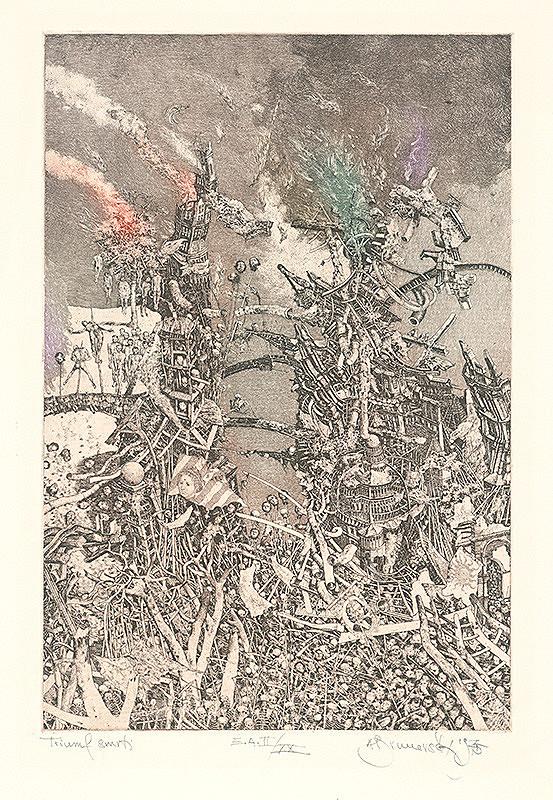 Albín Brunovský - Vojna-Triumf smrti