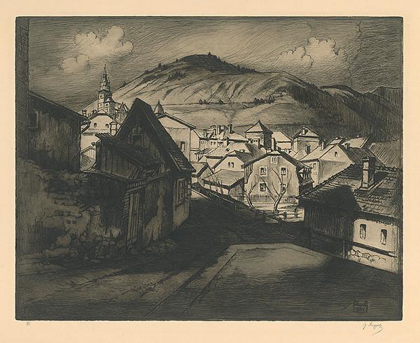 Gejza Angyal - Kremnica od mlyna