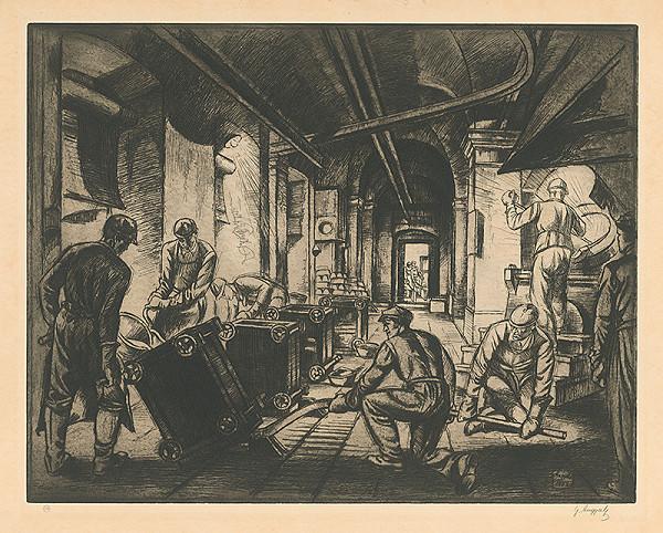 Gejza Angyal - Práca v šmelcovni