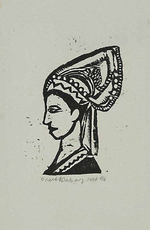 Orest Dubay - Hlava v čepci