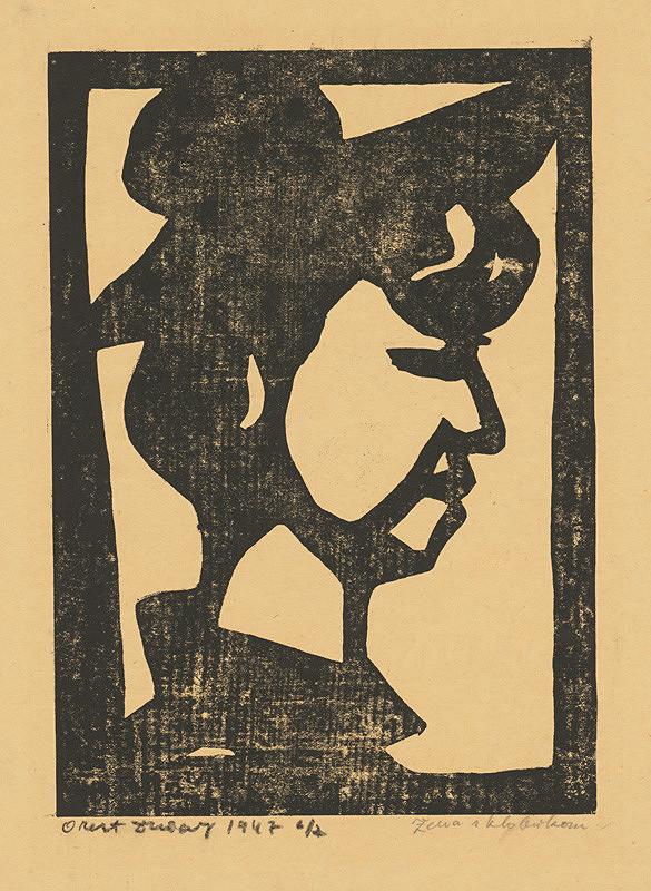 Orest Dubay - Žena v klobúku