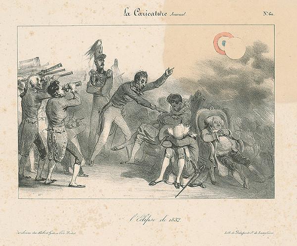 Auguste Raffet, Francúzsky karikaturista z 30. rokov 19. storočia – Zatmenie slnka roku 1832