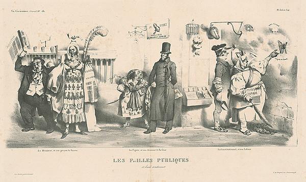 Charles Philipon, Francúzsky karikaturista z 30. rokov 19. storočia – Noviny a ich pasáci