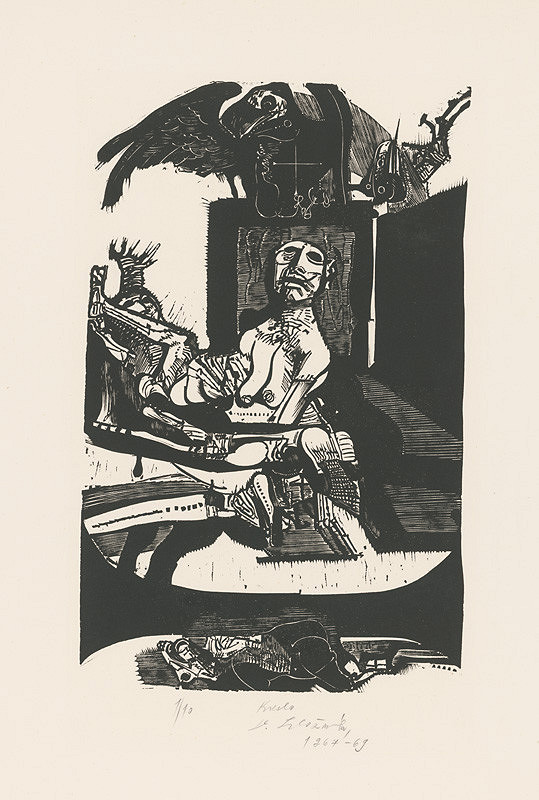 Vincent Hložník - Kreslo