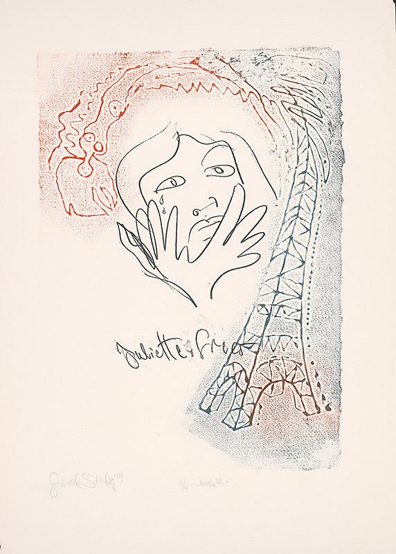 Gabriel Štrba st. – Juliette Greco