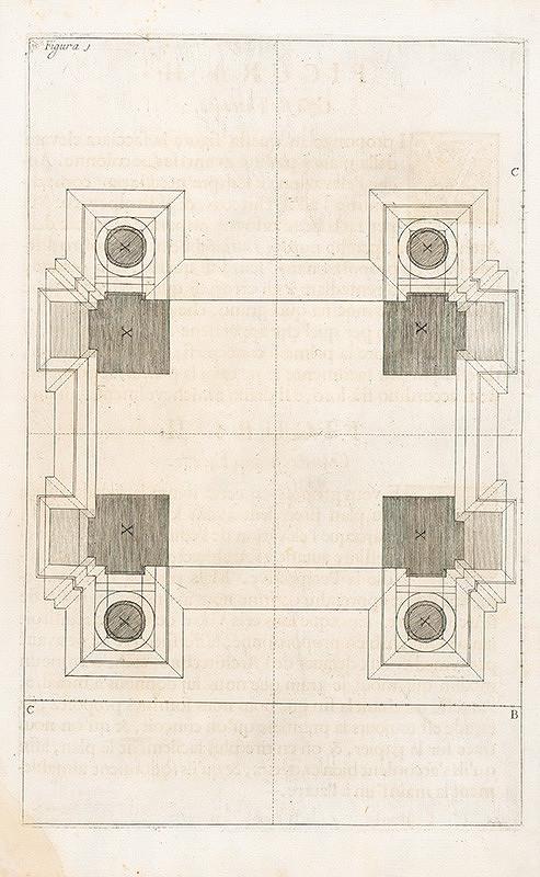 Andrea Pozzo, Giacomo Böemo Komarek - Fig.1. Plán