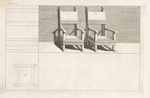 Andrea Pozzo, Giacomo Böemo Komarek - Fig.25. - Kreslá