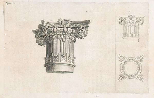Andrea Pozzo, Giacomo Böemo Komarek – Fig.31. - Hlavica zvaná capriciosa