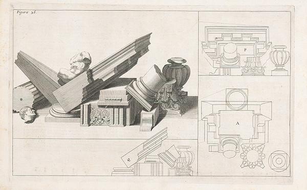 Andrea Pozzo, Giacomo Böemo Komarek - Fig.36. - Fragmenty architektúry