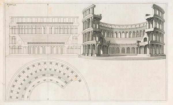 Andrea Pozzo, Giacomo Böemo Komarek – Fig.44. - Amfiteáter alebo koloseum