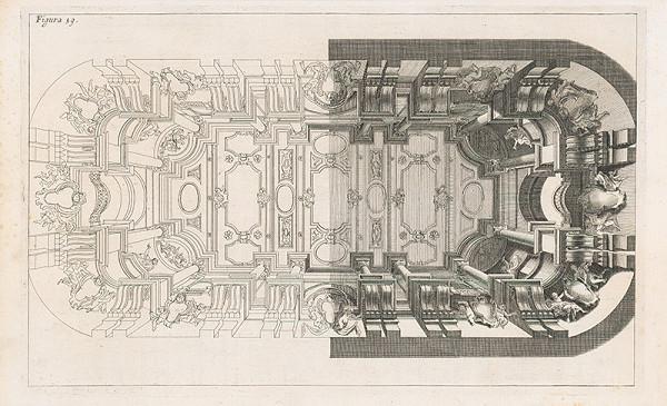 Andrea Pozzo, Giacomo Böemo Komarek - Fig.59. - Perspektíva zdola nahor