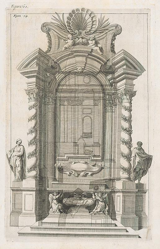 Andrea Pozzo, Giacomo Böemo Komarek - Fig.60. - Oltár svätého Ignáca zhotovený v Ríme