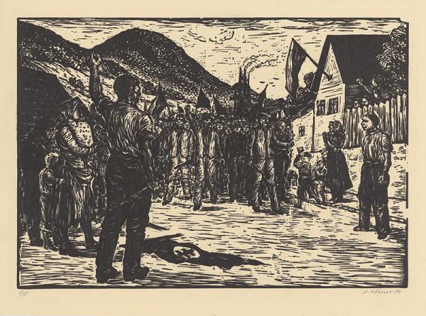 Alojz Klimo - Povstanie v Tisovci