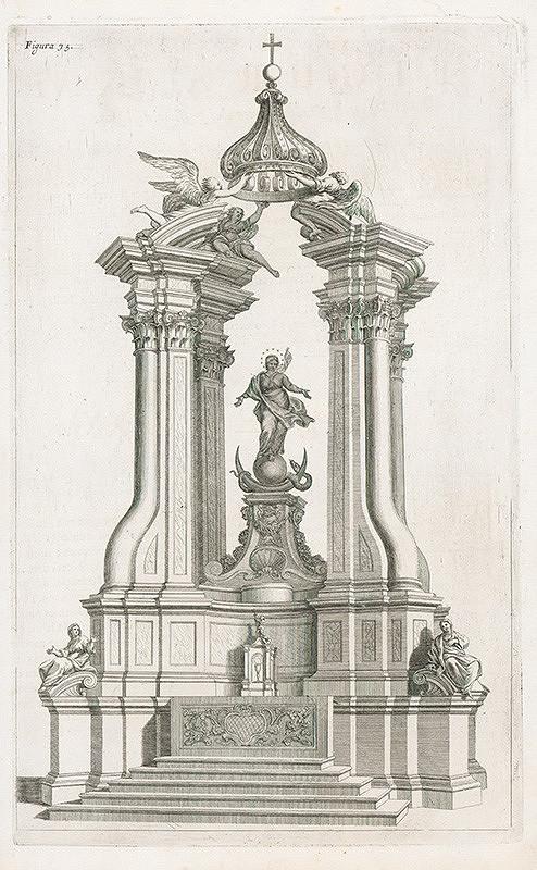 Andrea Pozzo, Giacomo Böemo Komarek - Fig.75. - Oltár Capricioso