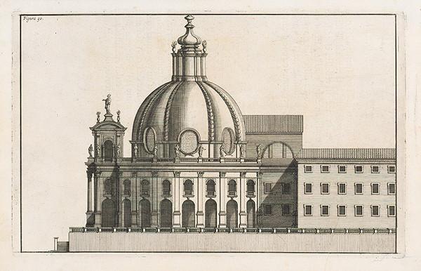 Andrea Pozzo, Giacomo Böemo Komarek - Fig.90. - Vnútorná výška okrúhleho kostola
