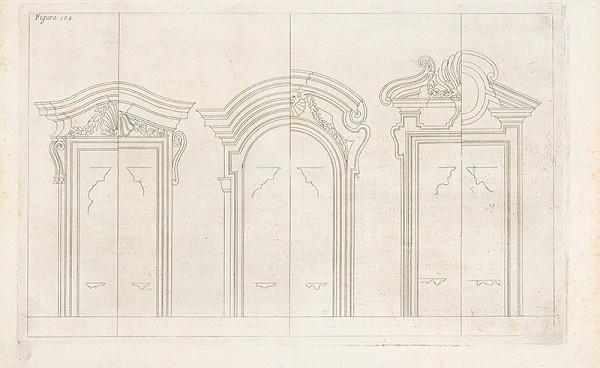 Andrea Pozzo, Giacomo Böemo Komarek - Fig.105. - Portály - 4