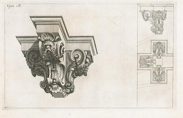 Andrea Pozzo, Giacomo Böemo Komarek – Fig.108. - Konzoly zdobené iným spôsobom
