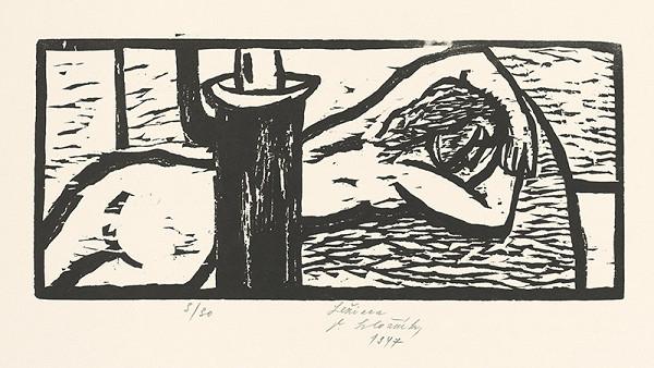 Vincent Hložník – Ležiaca