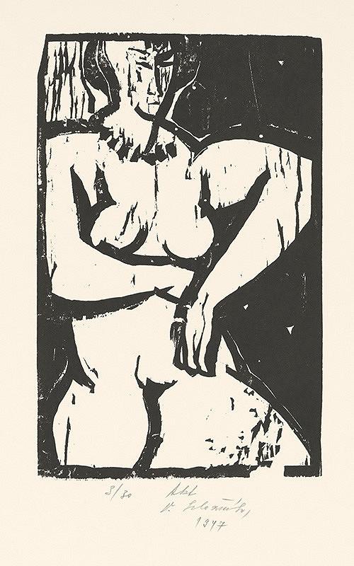 Vincent Hložník – Akt
