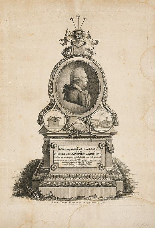 Andreas Leonhard Moeglich – Podobizeň CH.F.Stromera von Reichenberg