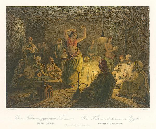 Karol Ľudovít Libay, Rudolf Alt, Alexander Schön - Fantastický tanec egyptskej tanečnice