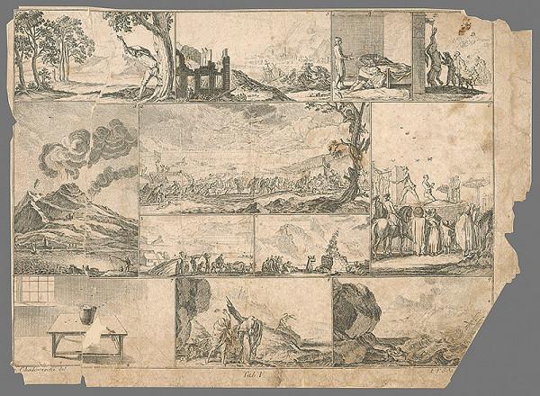 Johann Friedrich Schleuen, Gottfried Chodowiecki – Potopa