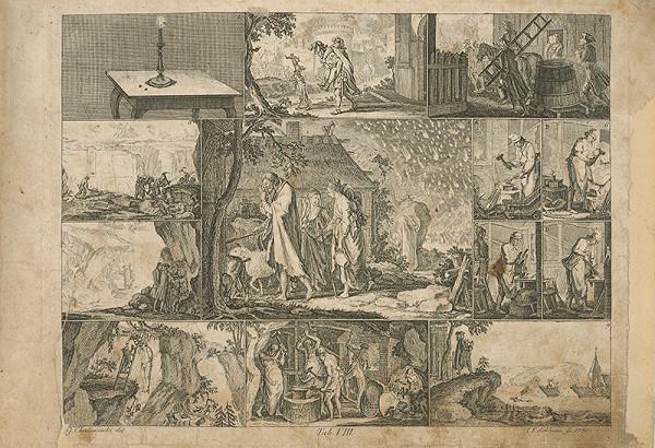 Johann Friedrich Schleuen, Gottfried Chodowiecki – Sodoma a Gomora